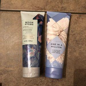 2 new bath & body works lotion